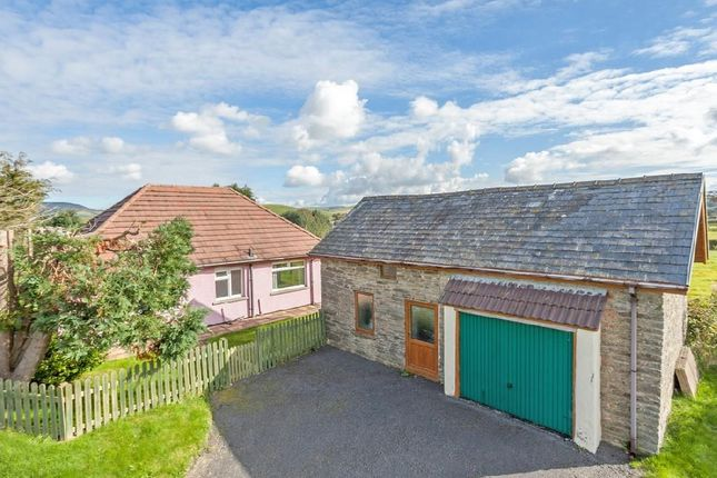 Thumbnail Detached bungalow for sale in Pant-Y-Dwr, Rhayader