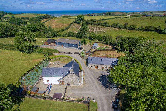 Thumbnail Detached house for sale in Llanrhystud, Ceredigion