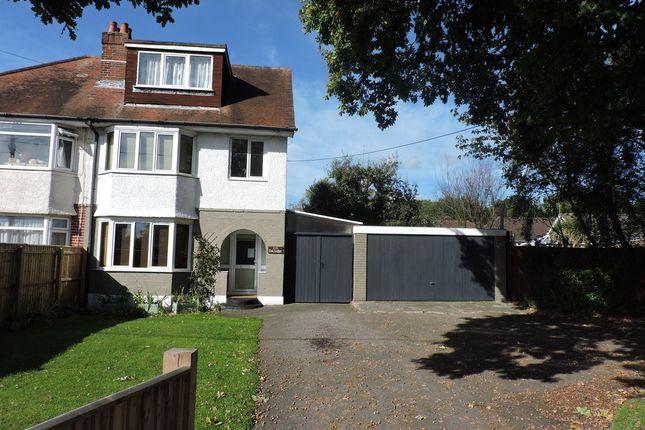 Thumbnail Semi-detached house for sale in Wimborne Road West, Wimborne