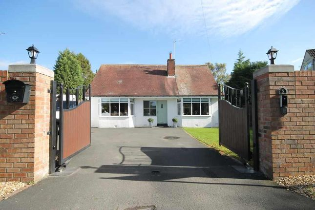 Thumbnail Detached bungalow for sale in Dene Park, Ponteland, Newcastle Upon Tyne