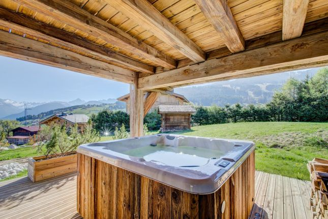 Amazing Views of Megeve, Rhones Alps, France