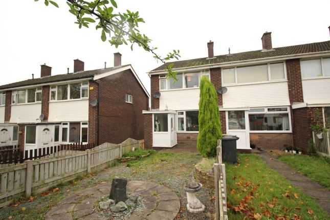 Thumbnail Terraced house for sale in Brookside Close, Hadfield, Glossop