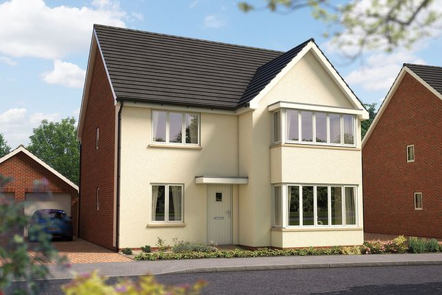 "Thumbnail Detached house for sale in ""The Oxford"" at Amesbury Road, Longhedge, Salisbury"