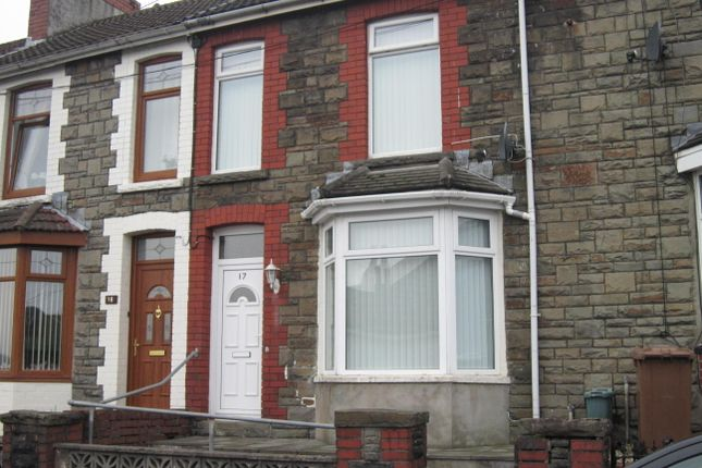 Thumbnail Terraced house for sale in Ruth Street, Bargoed
