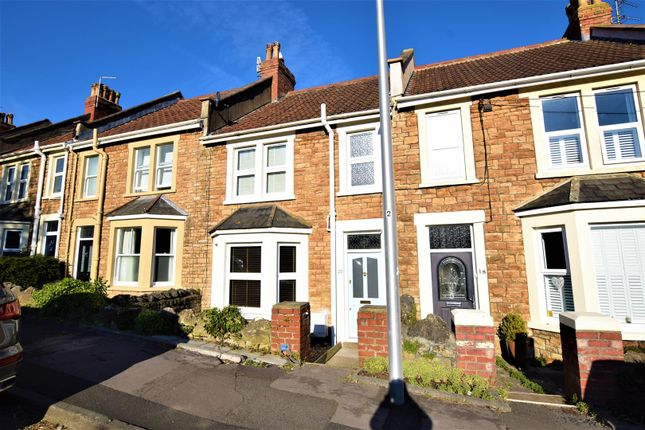 Thumbnail Terraced house for sale in Combe Avenue, Portishead, Bristol