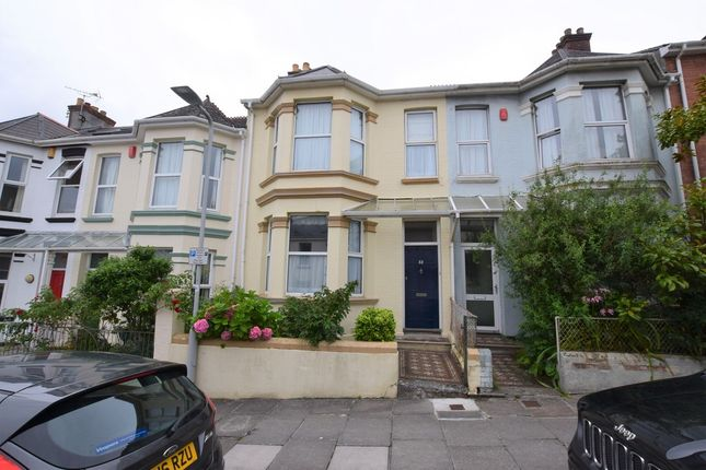 Thumbnail Terraced house for sale in Welbeck Avenue, Plymouth