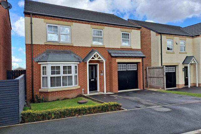 Thumbnail Detached house for sale in Blake Drive, Cramlington