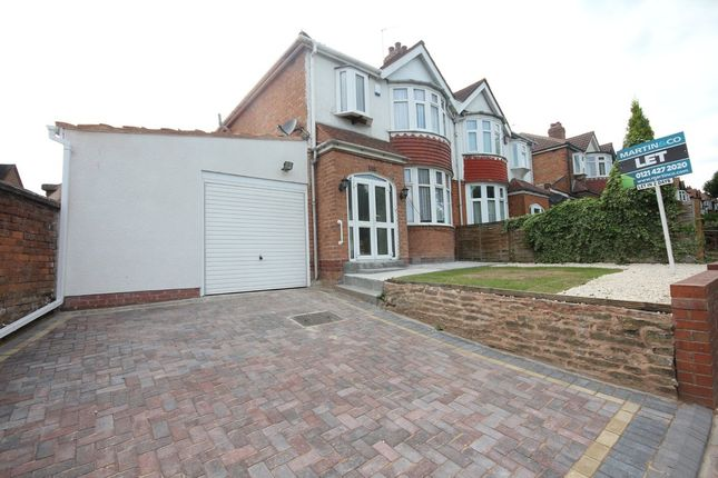 Thumbnail Semi-detached house to rent in Wolverhampton Road South, Quinton, Birmingham