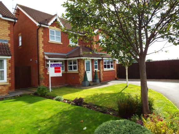Thumbnail Detached house for sale in Blunstone Close, Crewe, Cheshire