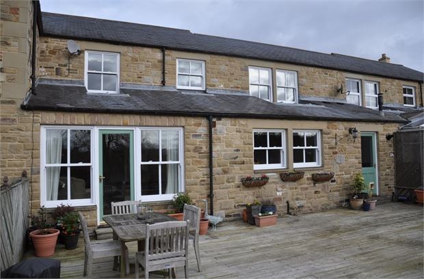 Thumbnail Terraced house for sale in The Folster, Wall, Northumberland.