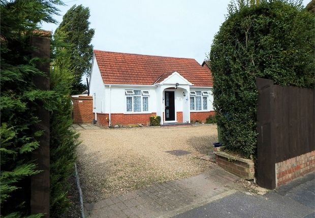 Thumbnail Detached bungalow for sale in Fernhill Road, Farnborough, Hampshire
