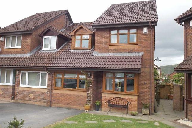 Thumbnail Semi-detached house for sale in Plas Y Fedwen, Coed-Y-Cwm, Pontypridd