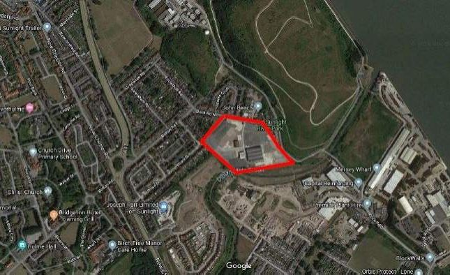 Land for sale in Dock Road North, Birkenhead