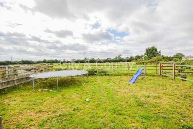 Rear Garden (2) of Manor Close, Farcet, Peterborough PE7
