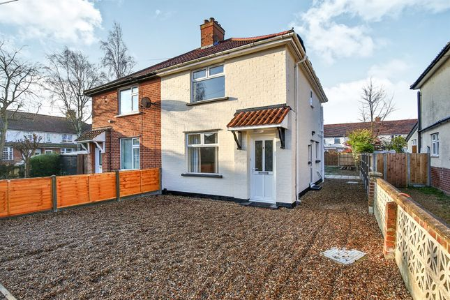 Thumbnail Semi-detached house for sale in Aldryche Road, Norwich