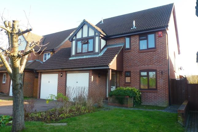 Thumbnail Detached house to rent in Crowhurst Keep, Worth, Crawley