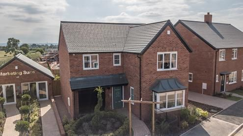 Thumbnail Detached house for sale in The Ashwood, Pound Lane, Worcestershire