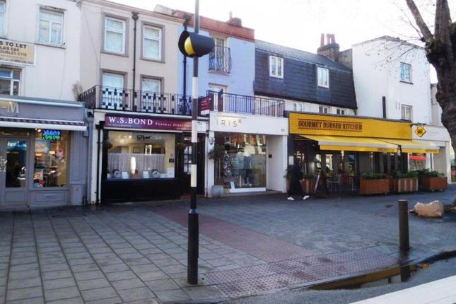 Thumbnail Retail premises for sale in Unit Shop & Flat, 129, Chiswick High Road, Chiswick