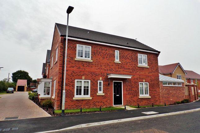 Thumbnail Detached house for sale in St. Nicholas Drive, Bedlington