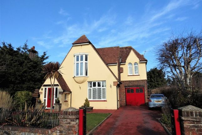 Thumbnail Detached house for sale in Offington Avenue, Broadwater, Worthing