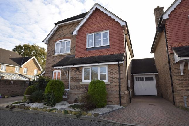Thumbnail Detached house for sale in Marlow Drive, Hailsham, East Sussex