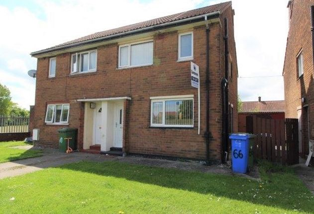 Thumbnail Semi-detached house to rent in Dene View Drive, Blyth