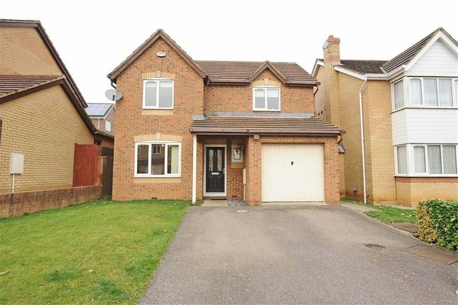 Thumbnail Detached house for sale in Mulberry Close, Wellingborough