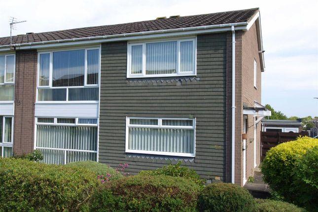 Thumbnail Flat for sale in Gresham Close, Cramlington