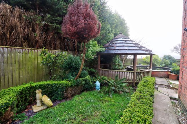 Rear Garden of Woodland Drive, Rocester, Uttoxeter ST14
