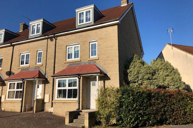 Thumbnail Town house to rent in Freestone Way, Corsham
