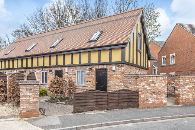 Thumbnail End terrace house for sale in Lodge Court, Lincoln