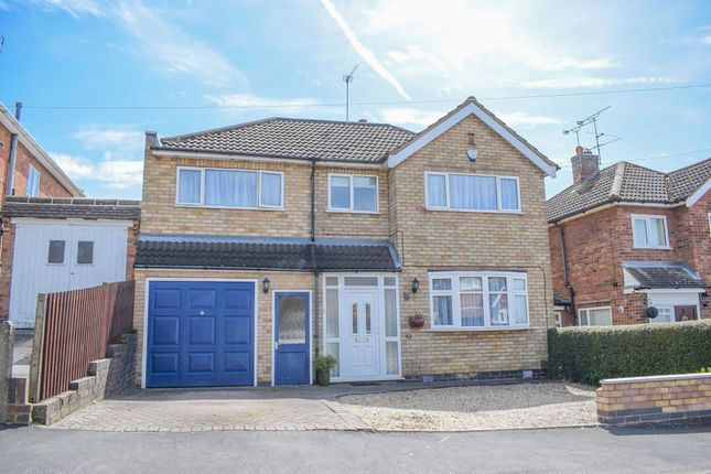 Thumbnail Detached house for sale in Bollington Road, Oadby, Leicester