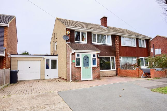 Thumbnail Semi-detached house for sale in Brune Lane, Gosport