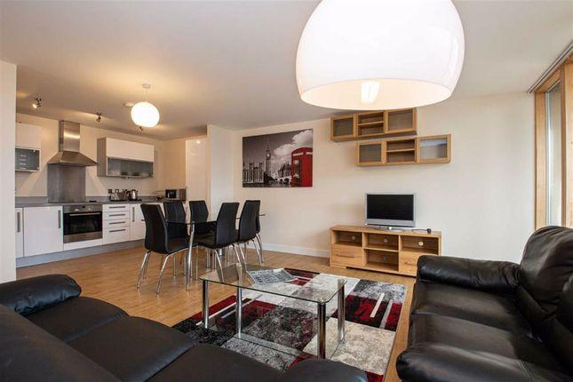Thumbnail Flat to rent in Pearl House, Central Milton Keynes, Milton Keynes, Bucks