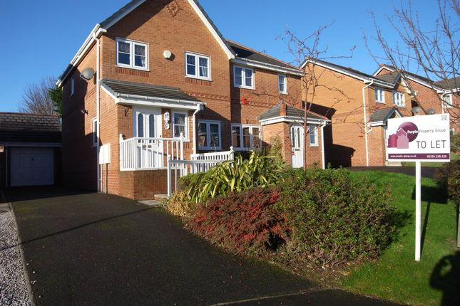 Thumbnail Semi-detached house to rent in Robin Crescent, Heysham, Morecambe