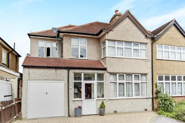 Thumbnail Semi-detached house for sale in Sandy Way, Shirley, Croydon, Surrey