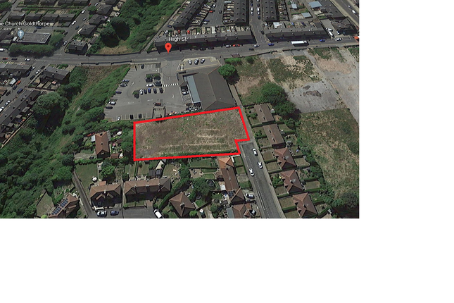 Thumbnail Land for sale in Market Street, Goldthorpe