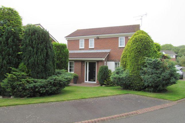Thumbnail Detached house for sale in Hauxley Drive, Cramlington