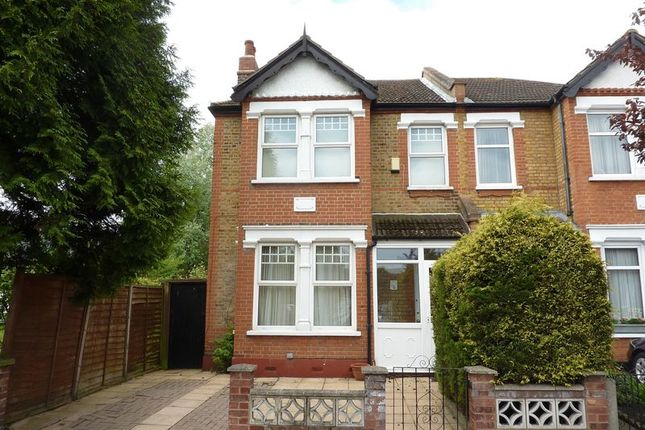 Thumbnail End terrace house to rent in Bercta Road, London