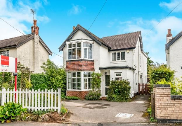 Thumbnail Detached house for sale in Old Croft Road, Walton On The Hill, Stafford, Staffordshire