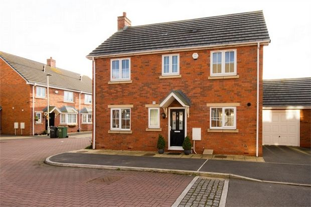 Thumbnail Detached house for sale in Farmdale Grove, Broad Lane, Walsall, West Midlands