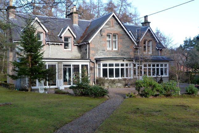 Thumbnail Detached house for sale in Kingussie Road, Newtonmore