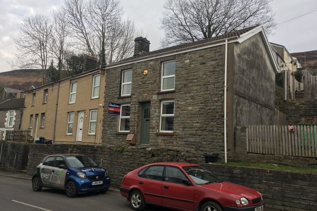 Thumbnail Terraced house to rent in Cardiff Road, Troedyrhiw, Merthyr Tydfil