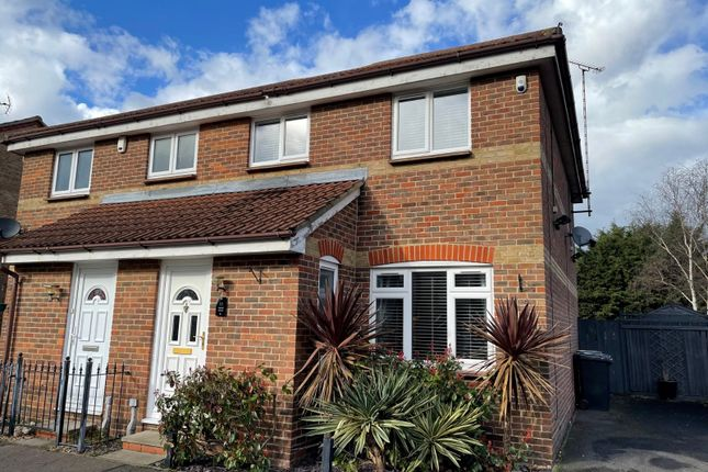 Thumbnail Semi-detached house for sale in Kestrel Grove, Rayleigh, Essex