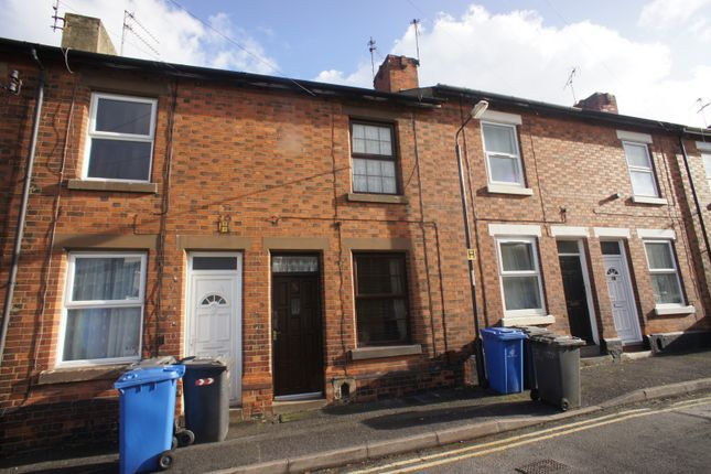 Thumbnail 3 bed terraced house to rent in Selborne Street, Derby