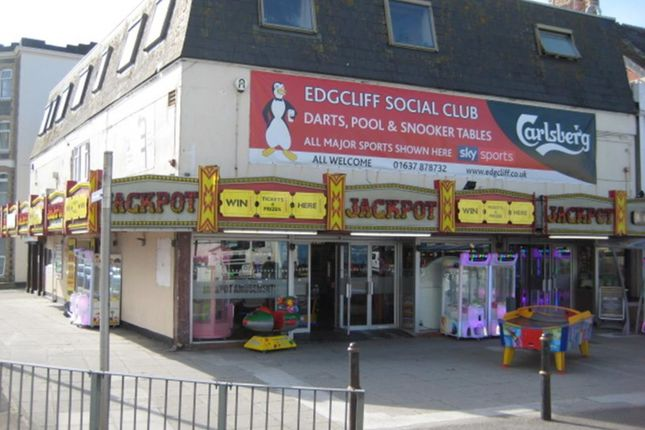 Thumbnail Retail premises for sale in Cliff Road, Newquay