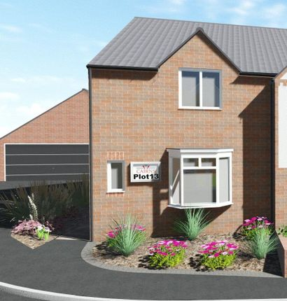 Thumbnail Semi-detached house for sale in The Harewood, Plot 13, Quarry Lane, Mansfield