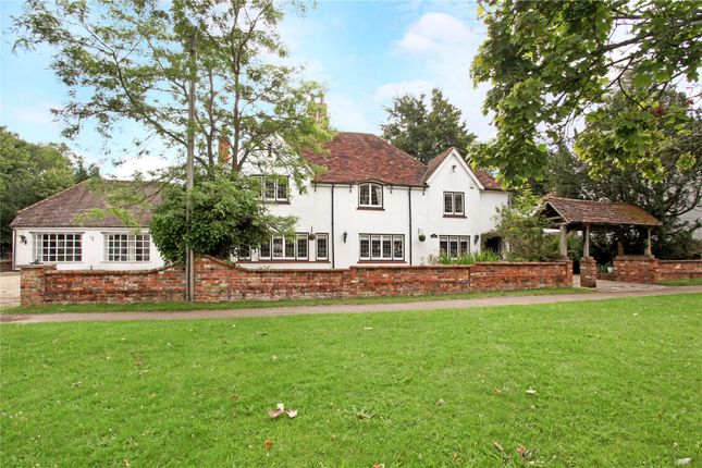 Thumbnail Detached house for sale in Reading Road, Yateley