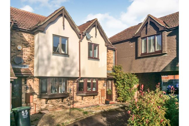 Thumbnail Terraced house to rent in Middle Mill Road, West Malling