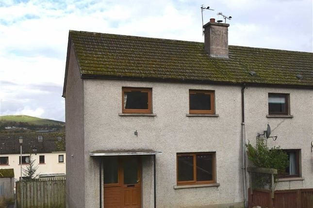 Thumbnail End terrace house for sale in Brown Square, Dingwall, Ross-Shire